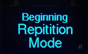 Screen only begin Repetition Mode